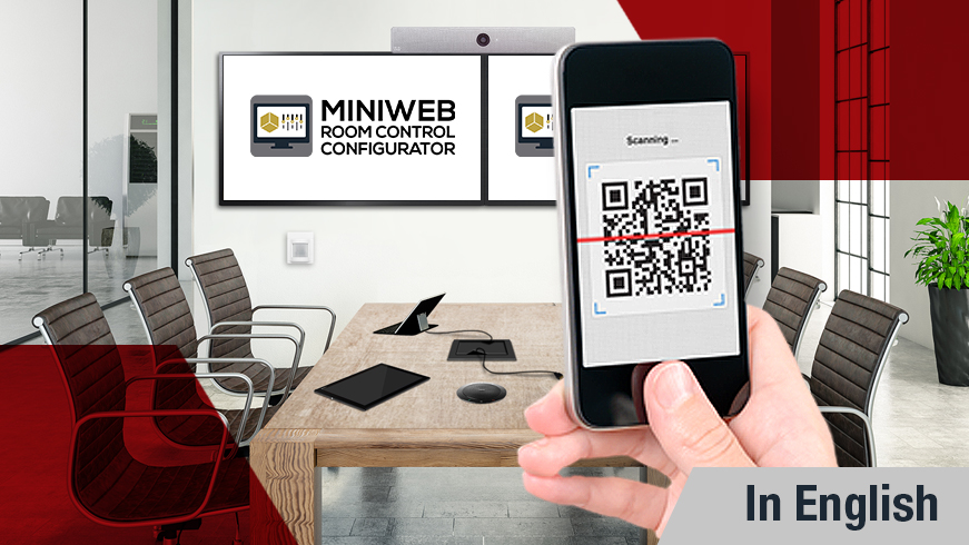 Control the Meeting Room from Your Phone or Tablet with Lightware MiniWeb